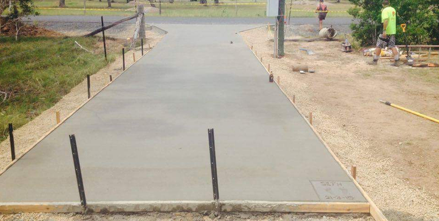 Concreting Hervey Bay, Driveways QLD, Shed Slabs Burrum Head